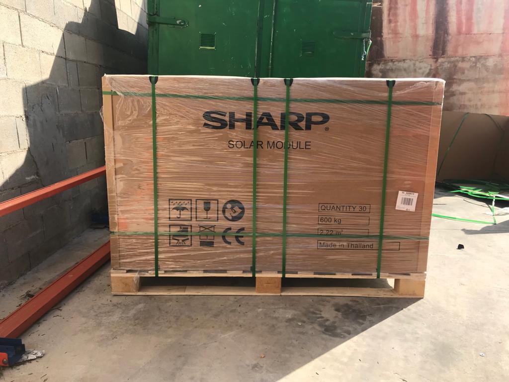 Sharp Panel Solar